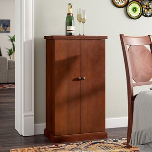 Zain Bar Cabinet with Wine Storage