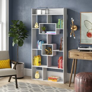 Canal Street Geometric Bookcase