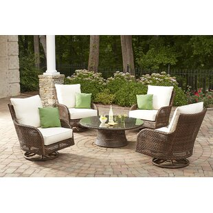 Lloyd Flanders Havana 5 Piece Dining Set