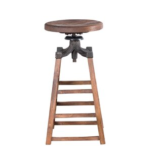 Huddersfield Adjustable Height Bar Stool Williston Forge