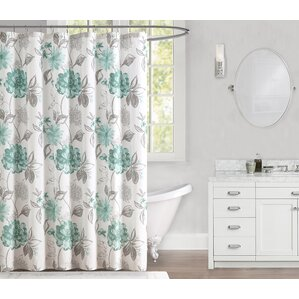 grey and coral shower curtain. Millbourne 100  Cotton Shower Curtain Curtains Joss Main