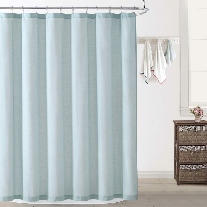 Wallingford Woods Chambray Shower Curtain
