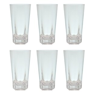 Mcardle 19 oz. Plastic Every Day Glasses (Set of 6)