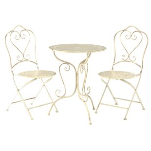 Jeremiah Dining Set With 2 Chairs By Lily Manor