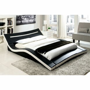 Crenshaw Alzia Upholstered Plateform Bed by Orren Ellis Amazing