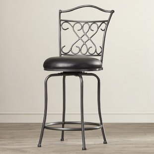 Apatow 24 Swivel Bar Stool Fleur De Lis Living