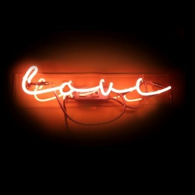 Love Neon Sign By Oliver Gal