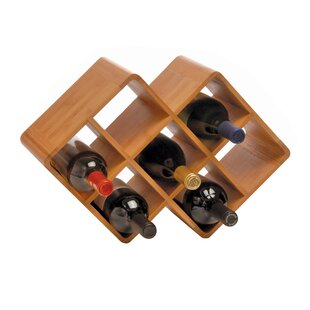Greenophile 8 Bottle Tabletop Wine Rack b..