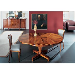 Affordable Extendable Solid Wood Dining Table By Annibale Colombo