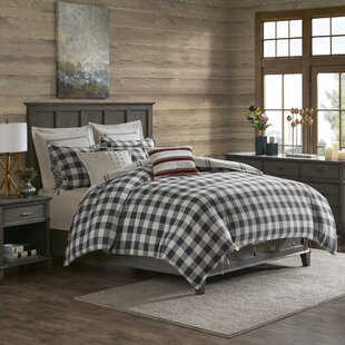 Willow Oak Cotton Reversible Comforter Set
