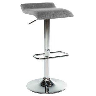 Adjustable Height Swivel Bar Stool (Set of 2) by WorldWide HomeFurnishings