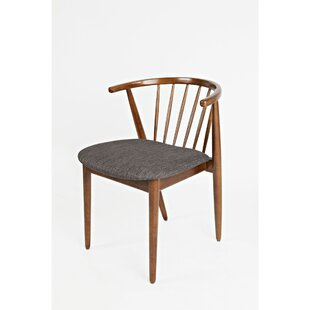 Solid Wood Dining Chair (Set of 2) by Benzara