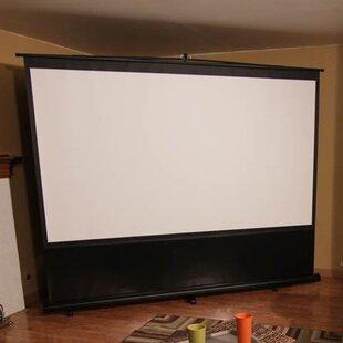 Reflexion Series Maxwhite 100 diagonal Portable Projection Screen by Elite Screens