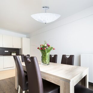 Woking 3-Light Semi Flush Mount by Orren Ellis