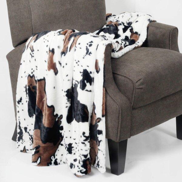 Cow Print Throw Wayfair