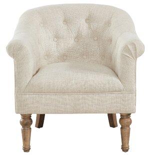 Check Prices Loredana Barrel Chair ByOphelia & Co.