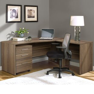 Review Pro X Corner L-Shape Executive Desk by Haaken Furniture