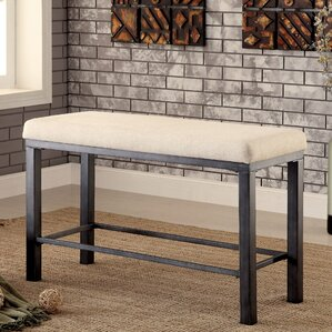 Thurman Upholstered Bench by Red Barrel S..