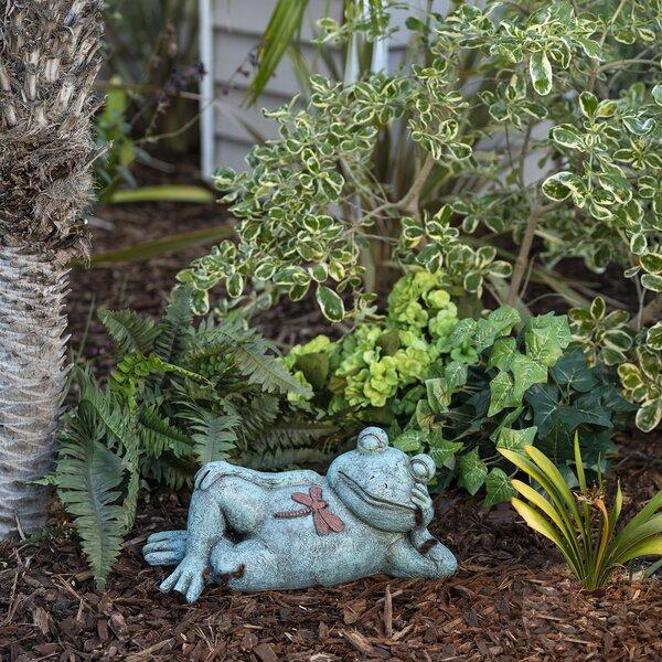 image Seavey Frog Relaxing Statue byAugust Grove®