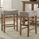 Hendina 24'' Counter Stool (Set of 2) by Gracie Oaks