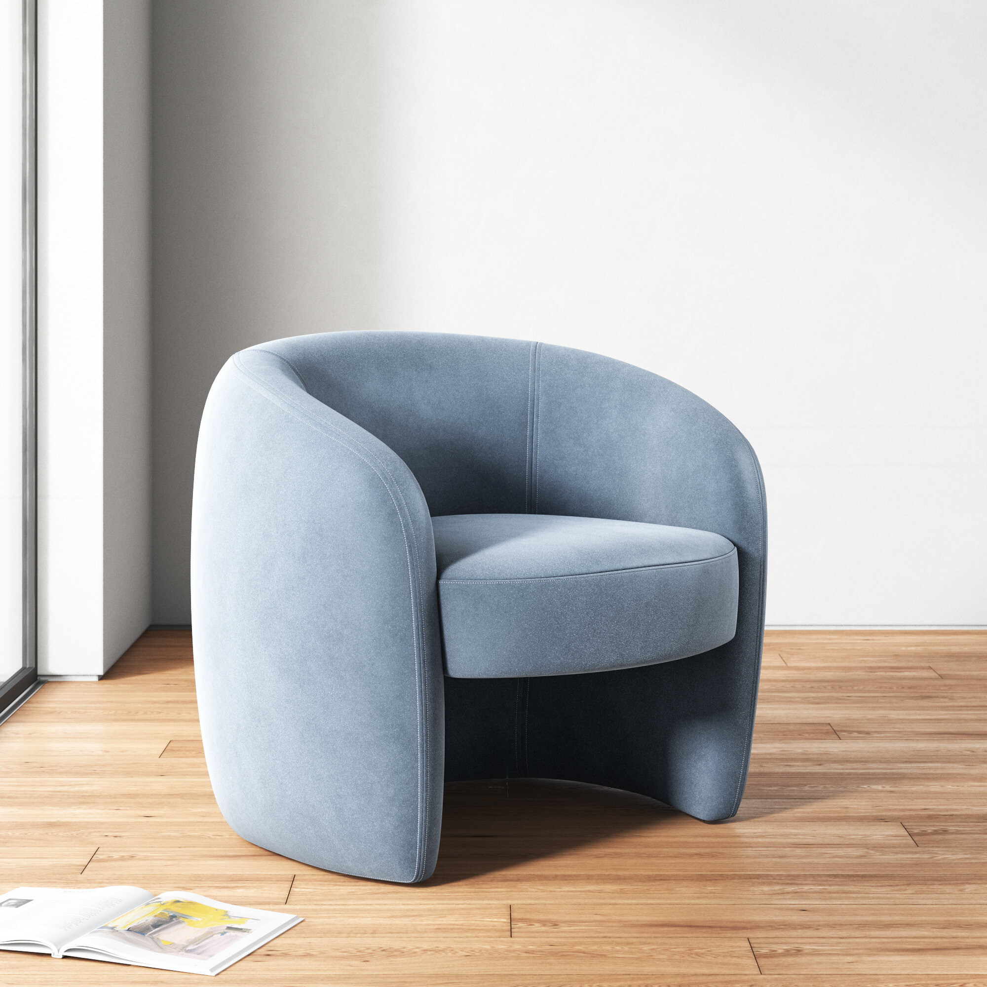 Natalie 24 Barrel Chair Reviews Allmodern