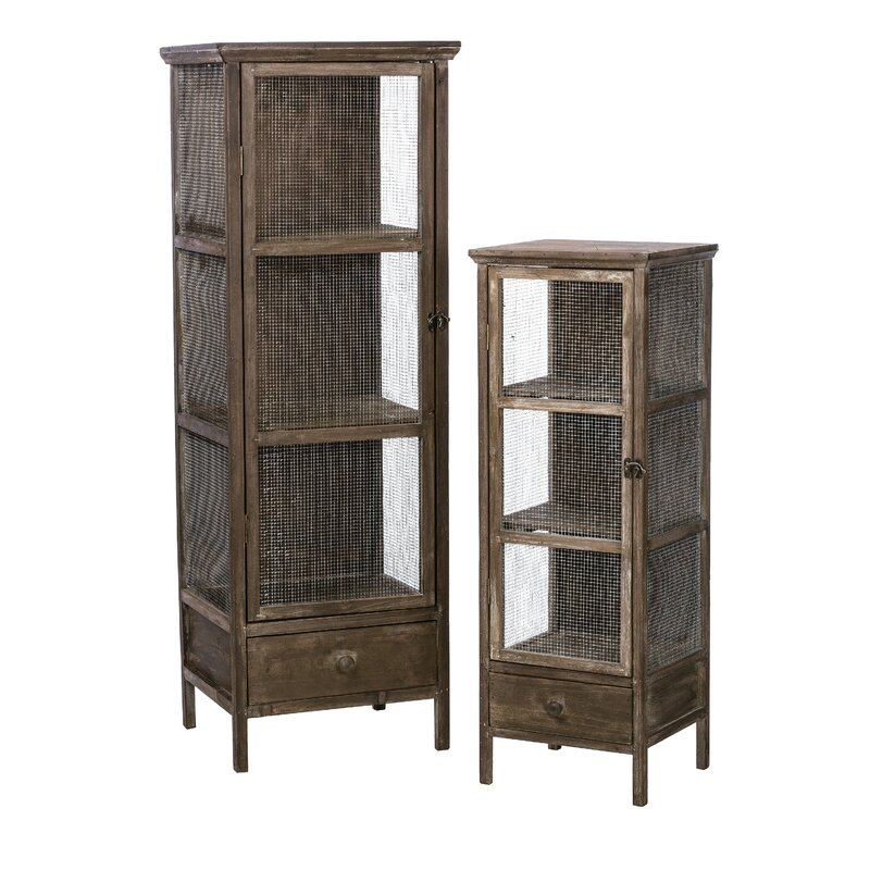 17 Stories Rustic Accent Shelves