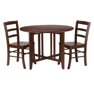 Columbia 3-Piece Dining Set Red Barrel Studio