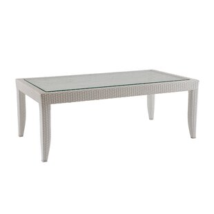Mykonos Glass Coffee Table by David Francis Furniture