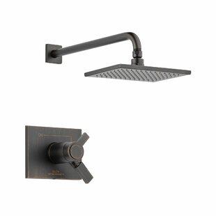 Reviews Vero Volume Control Shower Faucet Trim with Lever Handles and TempAssure ByDelta