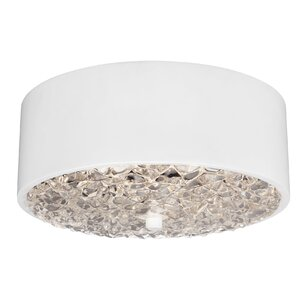 Fieldstone 2-Light Flush Mount