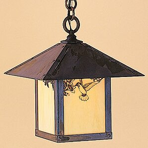 Evergreen 1-Light Outdoor Hanging Lantern