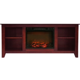 Brook Hollow TV Stand for TVs up to 60 with Fireplace by Alcott Hill