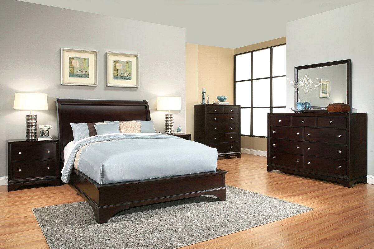 Superb Juliana Sleigh 6 Piece Bedroom Set
