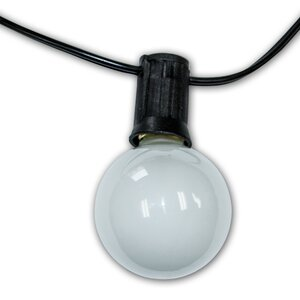 City Metro 24-Light Globe String Lights