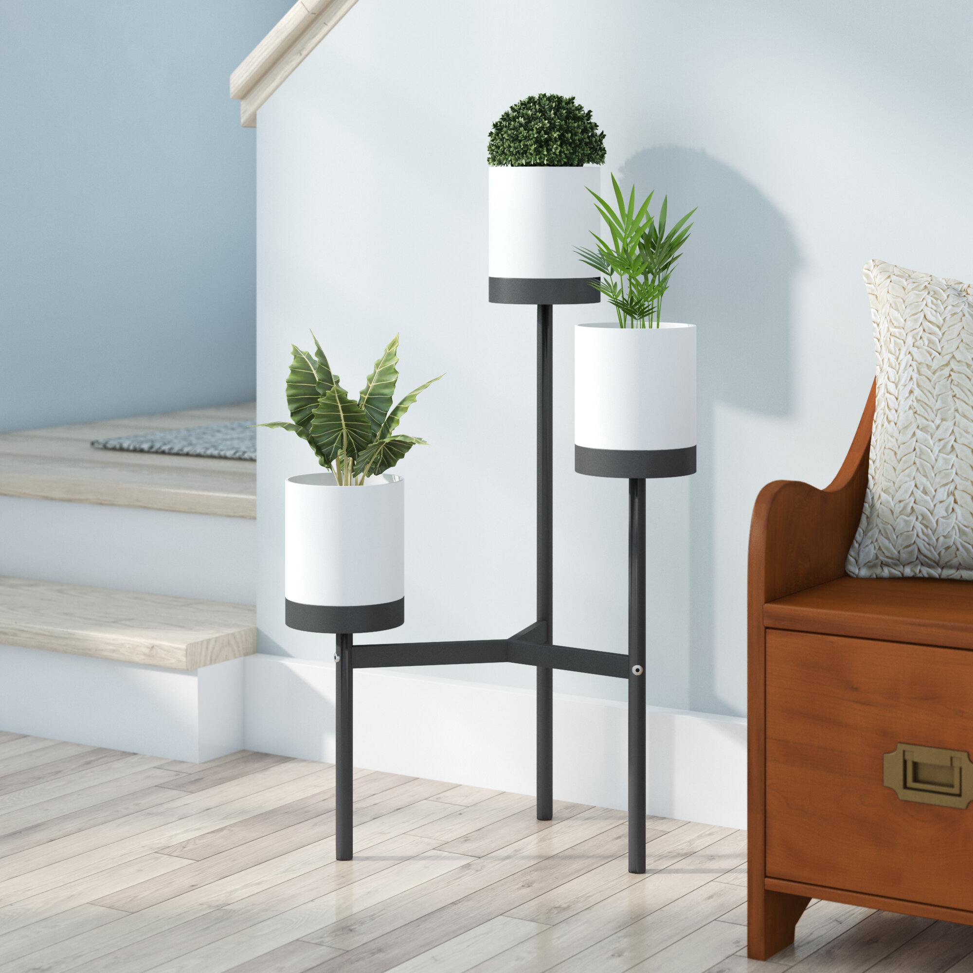 Latitude Run Ezio Multi Tiered Plant Stand Reviews Wayfair