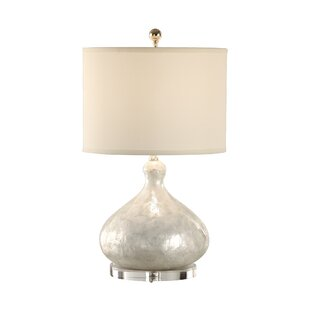 Capiz Shell Bottle 24 Table Lamp