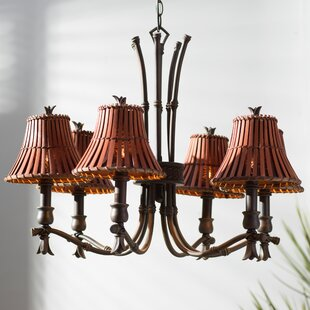 Bruno 6-Light Shaded Chandelier by Beachcrest Home