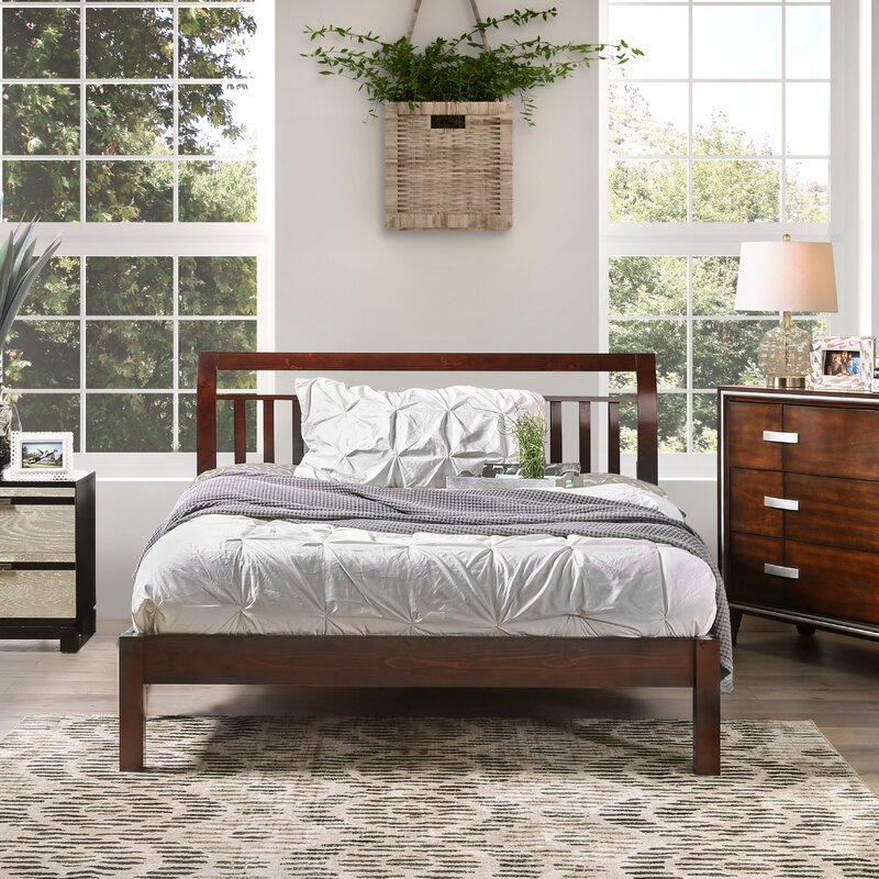 Darby Home Co Auburn King Platform Bed & Reviews | Wayfair