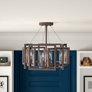 Wightman 4-Light Semi Flush Mount by Mercury Row