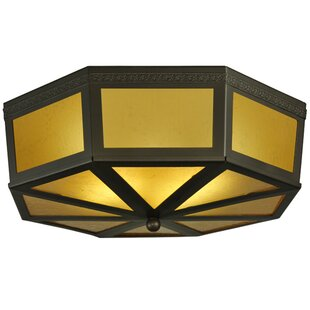 Meyda Tiffany Eltham 2-Light Flush Mount