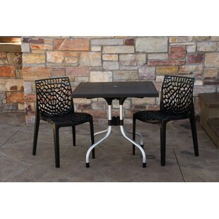 Slezak Patio 3 Piece Bistro Set by Brayden Studio Bargain