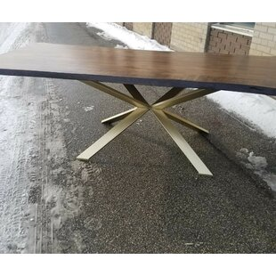 Corcoran Real Handmade Live Edge Dining Table by Foundry Select