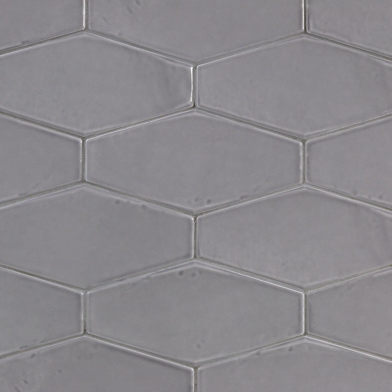 Splashback Tile Birmingham 4 X 8 Ceramic Field Tile In Charcoal