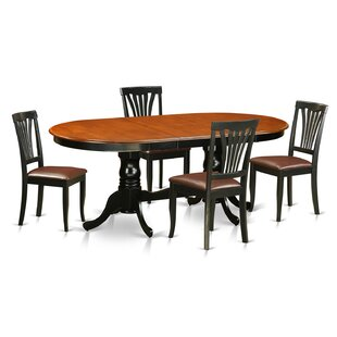 Newton 5 Piece Dining Set Wooden Importers