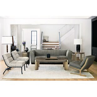 Profile 4 Piece Coffee Table Set by Bernhardt