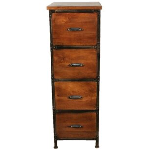 Winsett 4 Drawer Vertical Filing Cabinet by Loon Peak Modern