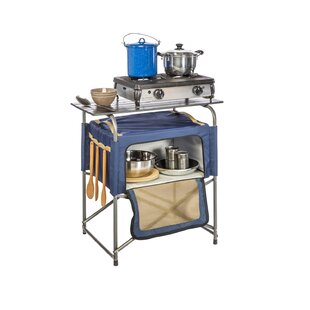 Keeble Insulated Bag Prep Table with Aluminum Top