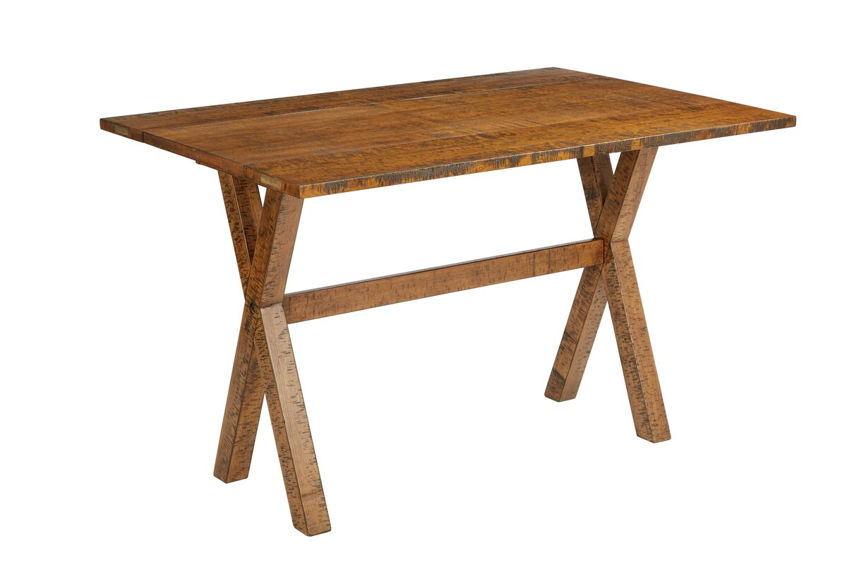 Union rustic meilani flip top console table reviews wayfair meilani flip top console table geotapseo Image collections