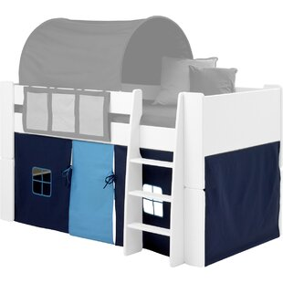 Clontarf Mid Sleeper Curtain By Zoomie Kids
