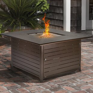 Patio Steel Propane Fire Pit Table By Barton